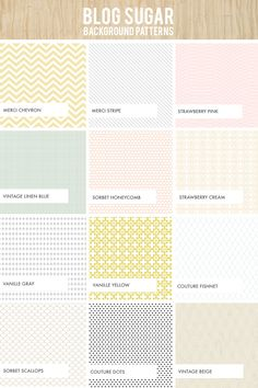 Blog designs | Dear Miss Modern