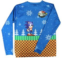 Gamer heaven - Sonic the Hedgehog Official Christmas Sweater ...