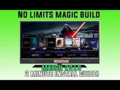 No Limits Magic Build Kodi March 2018 Guide - YouTube
