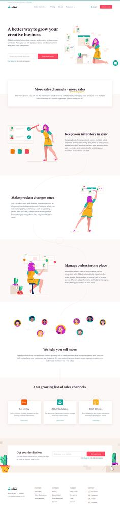 Zibbet landing page design inspiration - Lapa Ninja Landing Page Inspiration, Ui Inspiration, Web Design, Site Design, Design Ideas, Creative Studio, Creative Business, Sites Layout, Best Landing Page Design