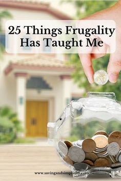 Are you looking to cut costs and save money? Learn how being frugal has helped…