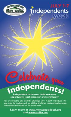 Celebrate Independents Week