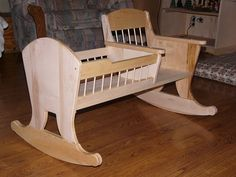 How to Build a Wooden Baby Cradle DIY Craft Ideas Baby