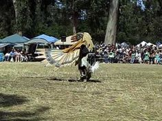 People into animals and back.  (Native American Raven Dancing)