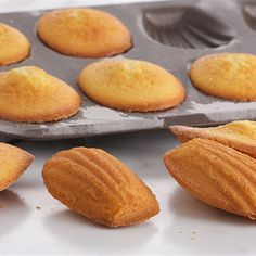 Try this Citrus Madelines recipe by Chef Anna Olson. This recipe is from the show Bake With Anna.