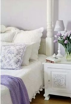 Purple for spare room