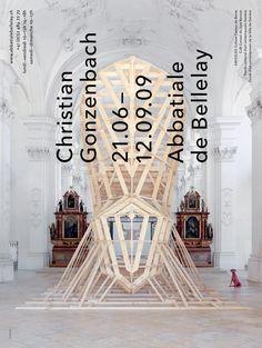 Christian Gonzenbach, 21.06 – 12.09.09, Abbatiale de Bellelay