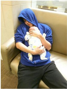 Knock out 555 @M1KEANGELO  Daddy take Max to get vaccine CR : KORANAT_PK IG #m1keangelo #mike #maxwell #fatherandson