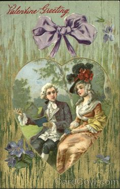 Victorian Couple in the Woods Couples
