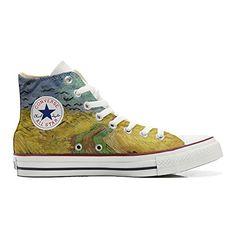 Converse All Star personalisierte Schuhe (Handwerk Produkt) Van Gogh - http://on-line-kaufen.de/make-your-shoes/converse-all-star-personalisierte-schuhe-van-2