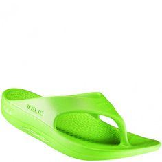 e9af0d40ac43 100-10 Telic Men s and Women s Flip Flops - Key Lime www.bootbay.