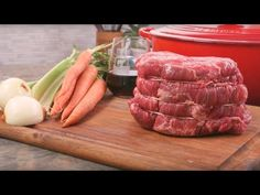 German Pot Roast is a classic meal of oven braised chuck roast and red cabbage. Dark beer, onions, carrots, and German mustard make this recipe rich and hearty. Best Roast Beef Recipe, Roast Beef Recipes, Classic Beef Stew, Charcuterie Recipes, Sirloin Tip Roast, Cube Steak Recipes, Chinese Bbq Pork, Corned Beef Brisket, Swiss Steak