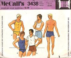 1972 Vintage McCalls pattern. So good.