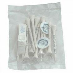 "10 Tee, Marker & Push Divot Tool Pack - 2 3/4"" Golf Tees"