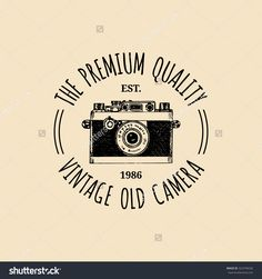 vintage camera logo design - Google Search More