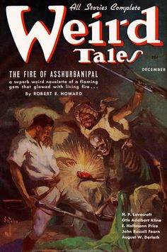 The Fire of Asshurbanipal, a Mythos story by Robert E. Howard