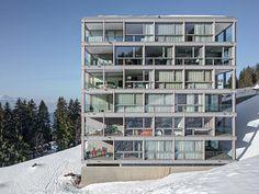 Architektur Lischer Partner - Bellevue apartments, Rigi Kaltbad 2015. Photos ©…