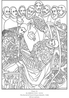 Dover Masterworks: Color Your Own Spanish Masters Paintings Welcome to Dover Publications