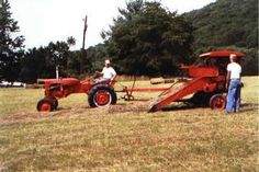 vintage Allis Chalmers CA | shed antique and vintage tractors 1955 ca powers a 1950 allis chalmers ...