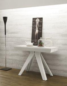 Tavolo/Consolle Allungabile Design By Viadurini Living [www.viadurini.it]
