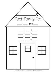 Free Fact Family House