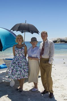 Agatha Christie's 'A Caribbean Mystery' starring Charity Wakefield as Molly Kendall, Julia McKenzie as Miss Marple, and Robert Webb as Tim Kendall. Agatha Christie's Marple, Agatha Christie's Poirot, Hercule Poirot, Best Mysteries, Cozy Mysteries, Murder Mysteries, Charity Wakefield, Mystery Show, Cop Show