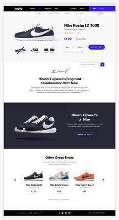 Graphic Design portfolio of Brandon Nickerson. Focusing on UI / UX, Branding, Logo Design, Packaging, Typography and Marketing. Webdesign Inspiration, Website Design Inspiration, Branding, Site Sport, Web Mobile, Ecommerce Web Design, Homepage Design, Landing Page Design, Web Layout