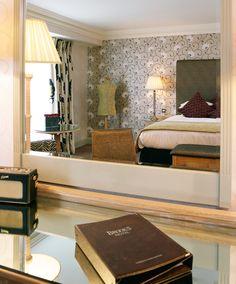 Mirror image, Brooks Hotel, Drury Street, Dublin 2