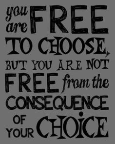 (P) Choose Wisely My Friends