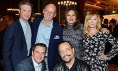 Raul, Mariska, Ice T, Kelli, and Peter Scanavino at the Bailey House Gala.