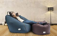 Adult bean bag chair cover Large lounge chair Adult lounge