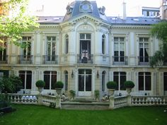 French chateau exterior