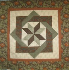 Labyrinth Quilt Pattern Free | Thread: Wall Hanging for the Mantle