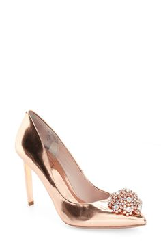 Ted Baker London 'Peetch' Pointy Toe Pump (Women) available at #Nordstrom