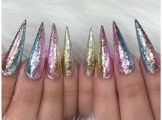 French Ombré Stiletto Nails by MargaritasNailz