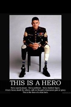 This is a hero!////We are so proud and thankful