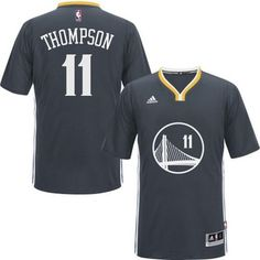 Golden State Warriors #11 Klay Thompson New Black Jersey $24.0
