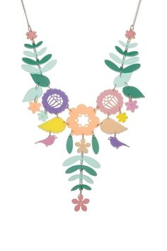 Mexican Embroidery Necklace - Pastels £95 (sale £57) - Contemporary 2014