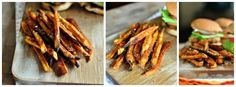Spicy Baked Sweet Potato Fries using Star Extra Light Olive Oil Laurie McNamara ~ Simply Scratch