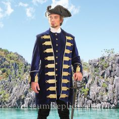 a61618404c4 Barbary Coast Pirate Coat. Museum Replicas