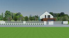 Formularz zamówienia projektu typowego Solid Grey   Xcel - Xcel House Gate Design, Mansions, House Styles, Grey, Home Decor, Mansion Houses, Ash, Homemade Home Decor, Gray
