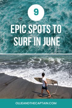 There's little as disappointing as picking a city because of its swell – and then you arrive at the wrong time of year. With this in mind, we're compiling a series on the most consistent surf in the world according to each month of the year. Here's our guide on where to surf in June so that you can shred as much as you want. #surf #surfinjune #globalsurf Wrong Time, Months In A Year, Disappointment, Surfing, June, Around The Worlds, Waves, City, Surf