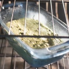 A virtually vegan avocado banana bread ready in less than an hour and made without using any dairy. Swap out the egg and it will be vegan. Avocado Banana Bread, Banana Nut Bread, How To Make Bread, Almond Flour, Baking Soda, A Food, Food Processor Recipes, Oven, Vegetarian