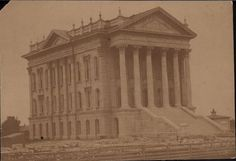 Capitol, Topeka, Kanas Date: 1880  Look at how awesome this photo is!  www.visittopeka.com