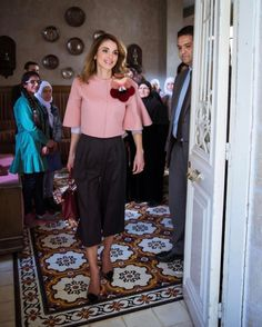 """Queen Rania of Jordan celebrates Mother's Day on 20 March, 2017 """" """"No words of gratitude can do you justice… Happy Mother's Day! A picture from my meeting with a group of Jordanian mothers in celebration of Mother's Day   #MothersDay #Love #Jordan..."""