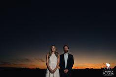 Stunning Sunset Engagement Photography - Carmen Salazar