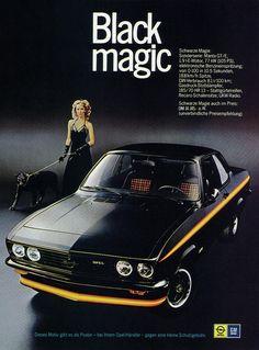 chromjuwelen:  Opel Manta A (1975) GTE Black Magic by H2O74 on Flickr.Opel Manta A (1975) GTE Black Magic