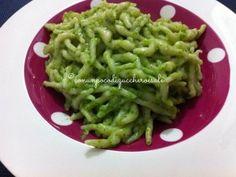 Trofiette al Pesto http://blog.giallozafferano.it/conunpocodizuccheroesale/trofiette-pesto/