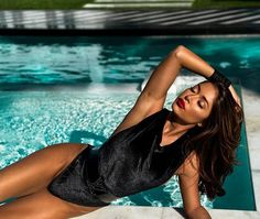 HOT POOLSIDE shoot with Arianny Celeste : if you love #MMA, you'll love the #UFC & #MixedMartialArts inspired fashion at CageCult:…