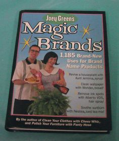 Joey Green's Magic Brands Frugal Uses Brand Name Products Book Free Ship DIY